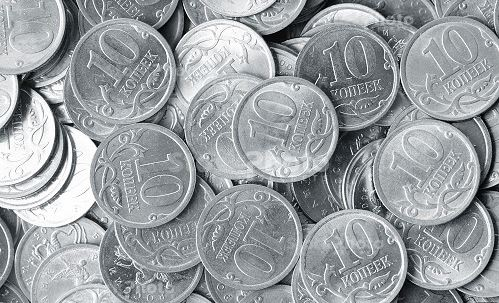Silver coins generic